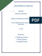 INFORME 1(ANALOGICA 1(g3))