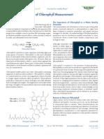 T606 the Basics of Chlorophyll Measurement