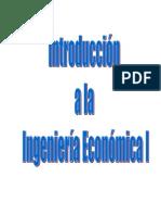 Introduccion a La Ingenieria Economica TEMA 3