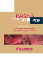 Training Manual - Advocates on the Rights of Child Domestic Workers