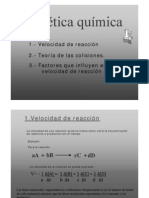 Cinética Enzimática I SEM_ 2011 part II