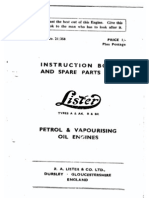 Lister Model A