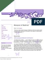 Mosques of Madinah - Madinah Ziaraat