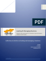 Leading and Managing Business