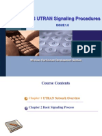 UMTS UTRAN Signaling Procedures