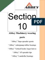 Abbey Q-Parts Catalogue Section 10