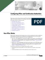 Configuring IPSec and Certification Authorities