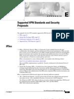 Supported VPN Standards
