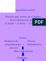 Factores de Comprension Lectora