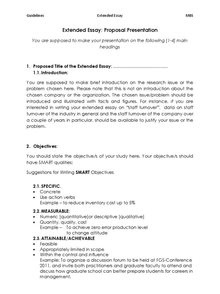 extended essay proposal essays cognition