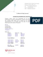 Guarantee Certificate Format