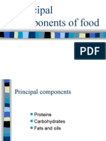 Principal Components of Food
