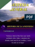 Anestesia General y Local