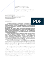 Article Rapport 2005 SCPC
