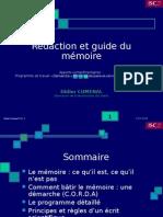 Rédaction Et Guide Du mémoire