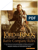 Lotr Strategy Battle Game - Battle Companies