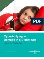 CSM Cyber Bullying White Paper 07.27.10