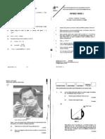 Physics 2003 Paper I