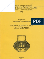 Necropola Tumulara de La Sarateni 1996