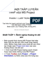 Bai Tap MS Project Part 1