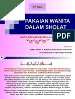 CR- Pakaian Sholat Utk Wanita