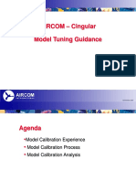 AIRCOM - Cingular Model Tuning Guidance