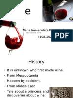 Wine Maria