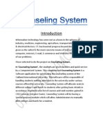 Counseling System MCS-044