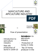 Sericulture and API Culture Industry