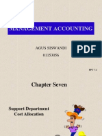07 Support Department Cost Allocation
