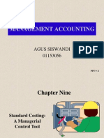 09 Standard Costing; A Managerial Control Tool
