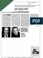 """La Repubblica_07_10_2011 Placido:""""Anagrafe deli eletti"""""""