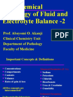 Lecture 22 - Fluid & Electrolyte Balance2 - 21 Oct 2006