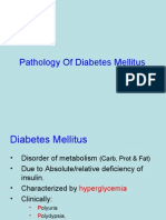 Lecture 28 - Pathology of Diabetes