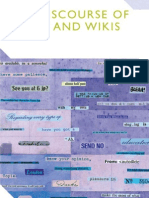 Myers - The Discourse of Blogs and Wikis