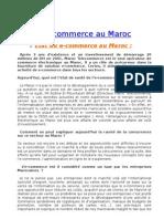 E-commerce o Maroc Modifié