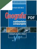 Geografie Clasa a VII-A