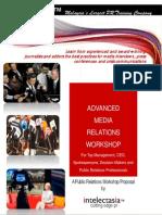 Advanced Media Relations Workshop (Oct-Dec 2011)