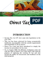 Direct Tax Code