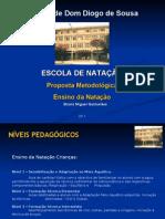 Ensino da Natação. Proposta metodológica. Bruno Miguel Guimarães