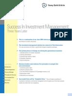 success in investment 10 03