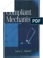 Compliant Mechanisms by Larry L. Howell