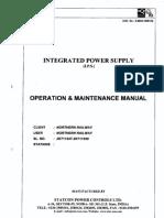 13013942 IPS Maintenence Manual Statcon Make