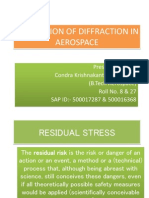 Application of Diffraction in Aerospace