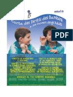 Carta dei diritti dei bambini e dei doveri degli adulti