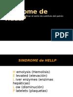 Síndrome de HELLP