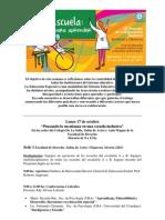 PROGRAMA JORNADAS DE EDUCACION ESPECIAL