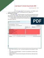 Hướng dẫn cài đặt OpenCV 2
