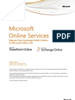 Migrate From Public Folders to Office 365 - WhitePaper