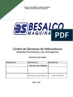 Control de Derrames de Hidrocarburos